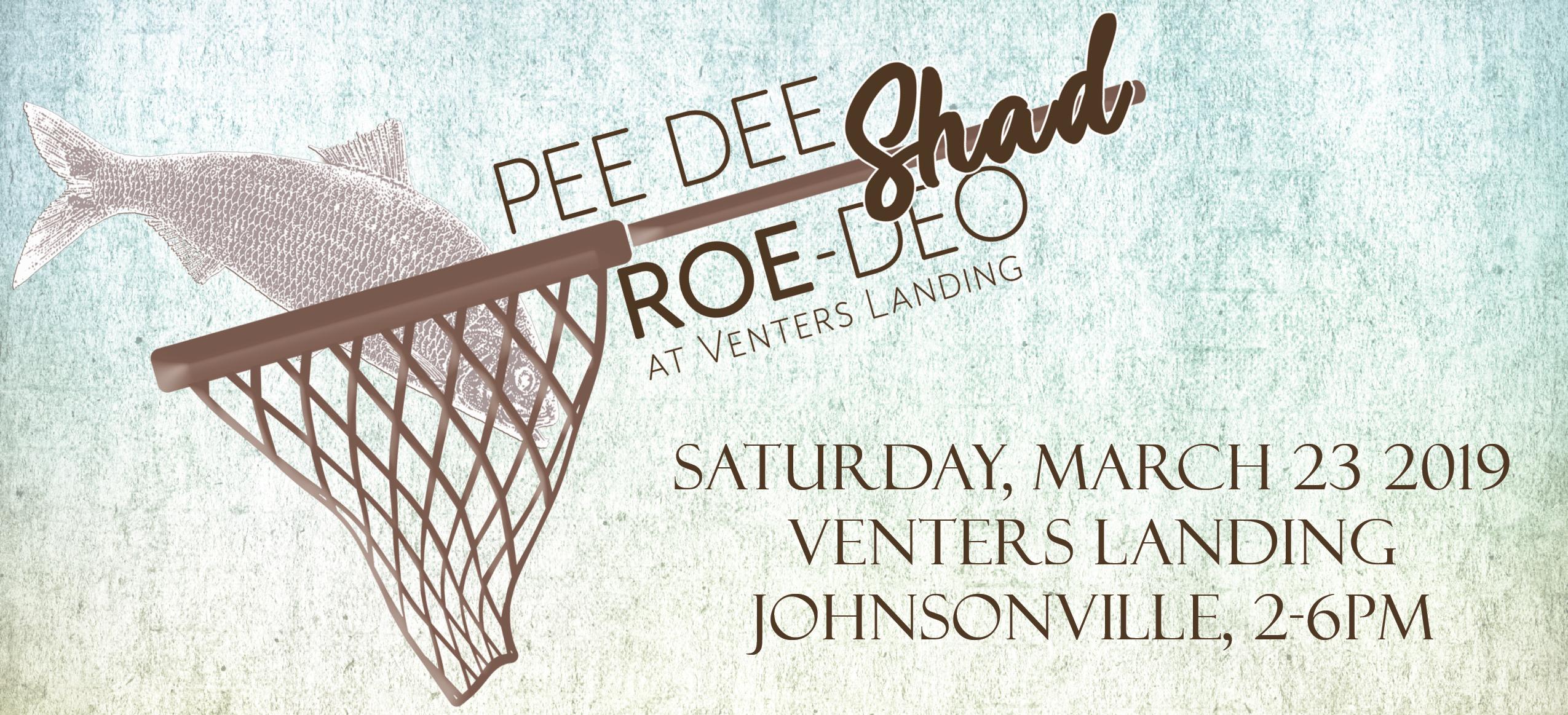 Pee Dee Shad Roe-deo