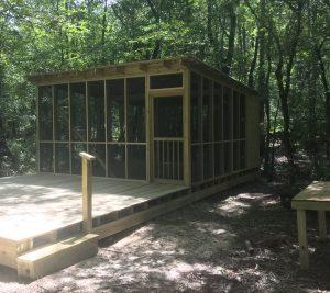platform campsite